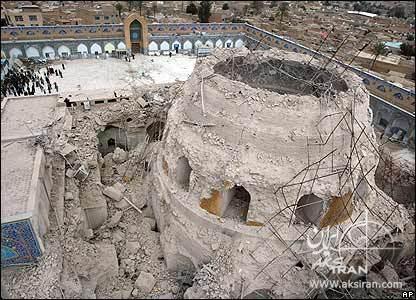 تخریب حرمین عسکرین سامرا